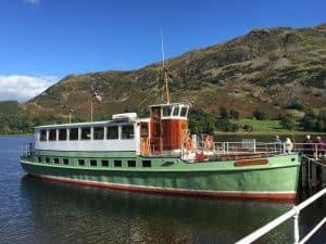 Lakeland Ullswater Steam Boat by Dunkeld Cottage
