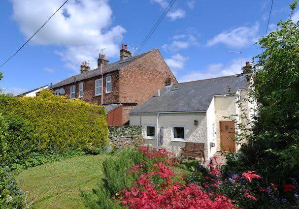 Rear Garden at Dunkeld Cottage